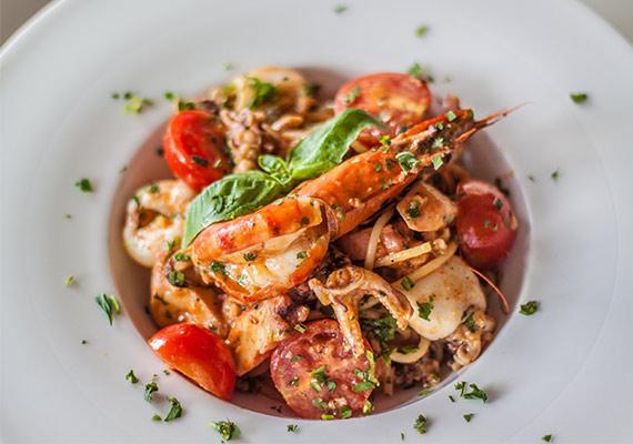 przykładowe danie w restauracji Semolino