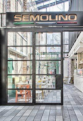 Semolino - włoska restauracja w Hali Koszyki