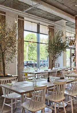 wnętrze restauracji Semolino na Mokotowie